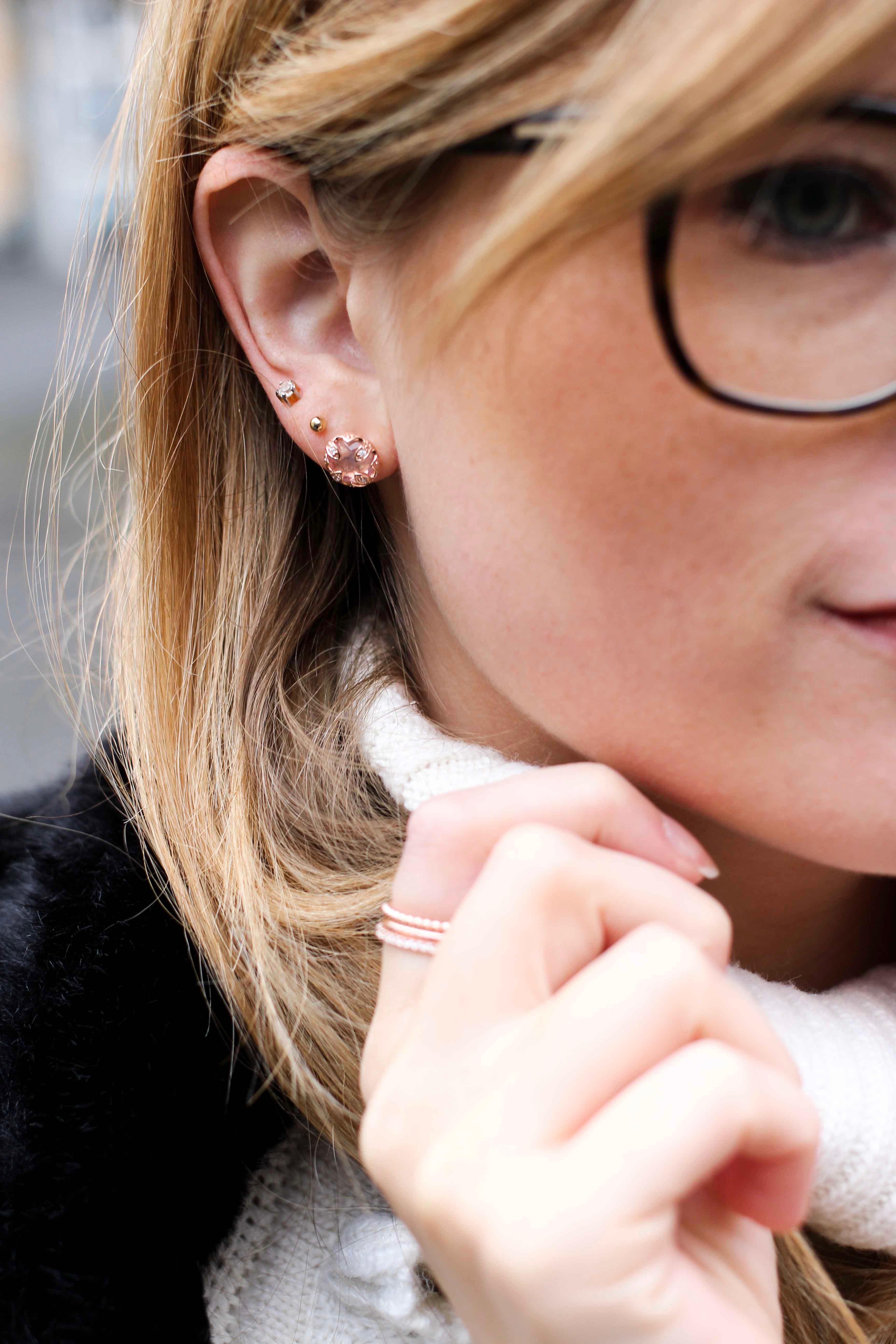 Thomas Sabo rosegold ringe filigran rosegoldener Schmuck Accessoires Ohrringe kombinieren