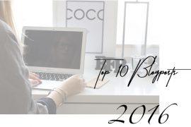Top 10 beliebteste Blogpost Modeblog Deutschland Reiseblog