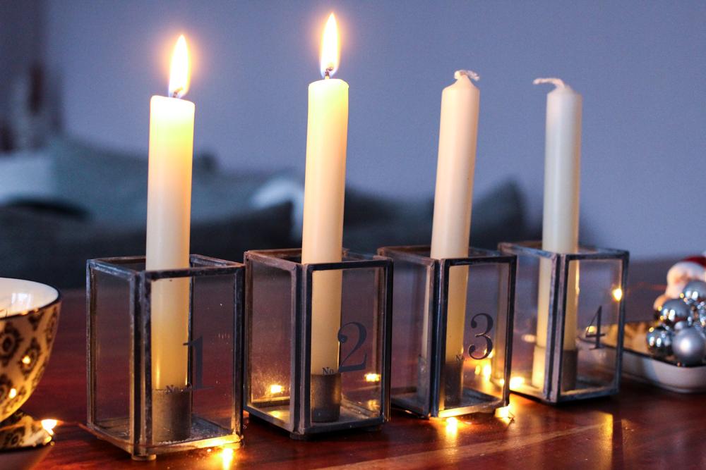 Weihnachtsdekoration Deko Idee Weihnachten Ediths Adventskranz Adventskerzen Blog
