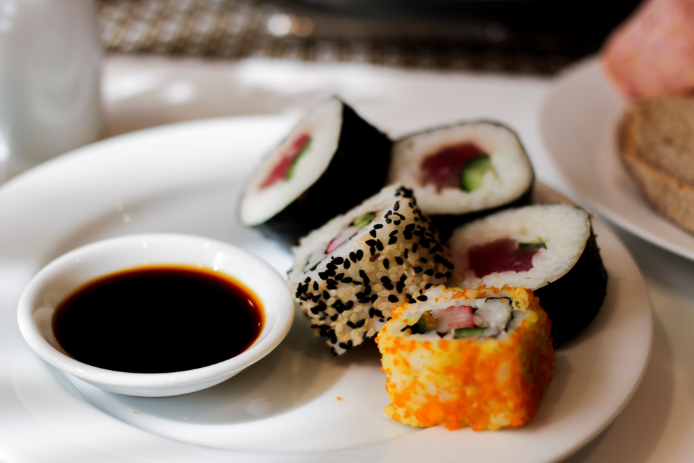 Banyan Tree Bangkok Hotel Frühstück Sushi Serenity Club Badewanne Reiseblog