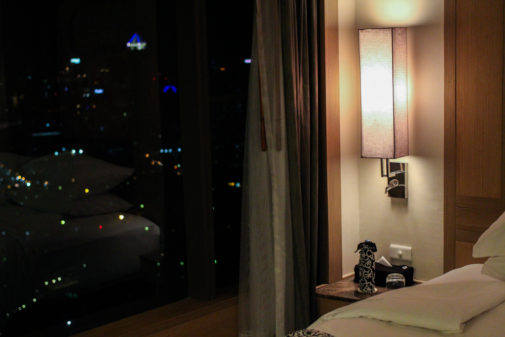 Banyan Tree Bangkok Hotel Hotelzimmer Serenity Club Ausblick Reiseblog