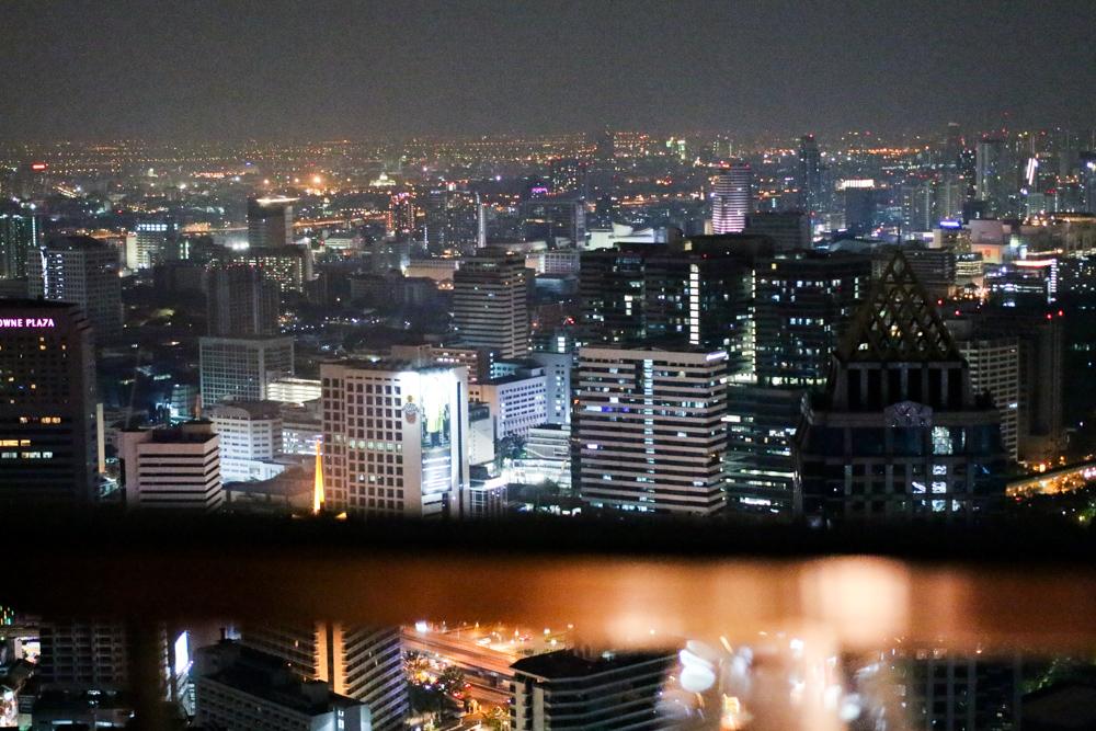 Restaurant Vertigo sky view rooftop Bangkok sightseeing Highlight Reiseblog Banyan Tree Bangkok Hotel 2