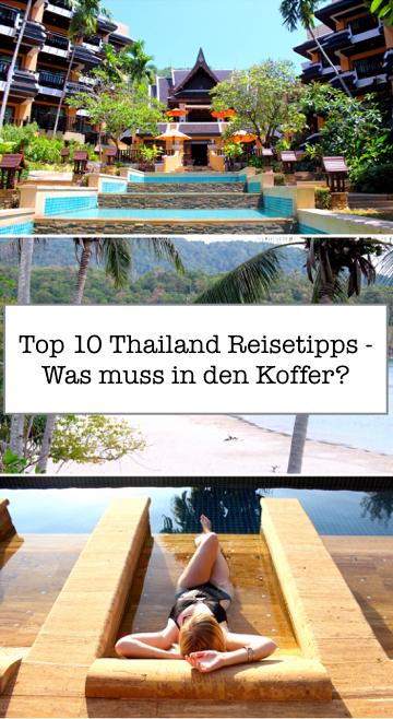 Top 10 Thailand Reisetipps packlickste was muss in Koffer Strand.001