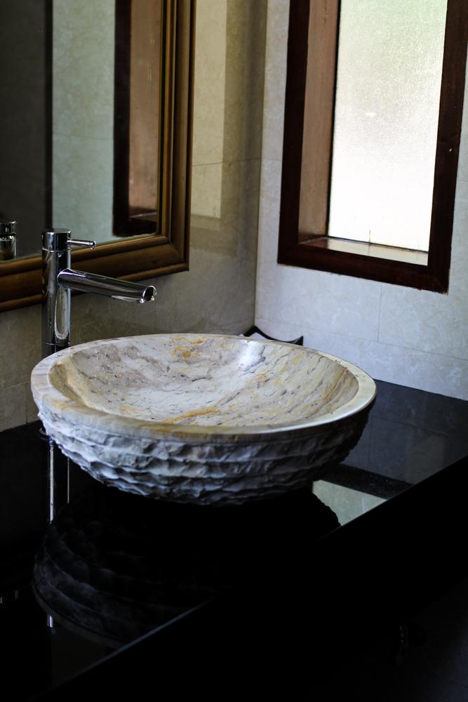 Chivapuri Beach Resort Hotel Koh Chang Thailand Deluxe Doppelzimmer Badezimmer Waschbecken