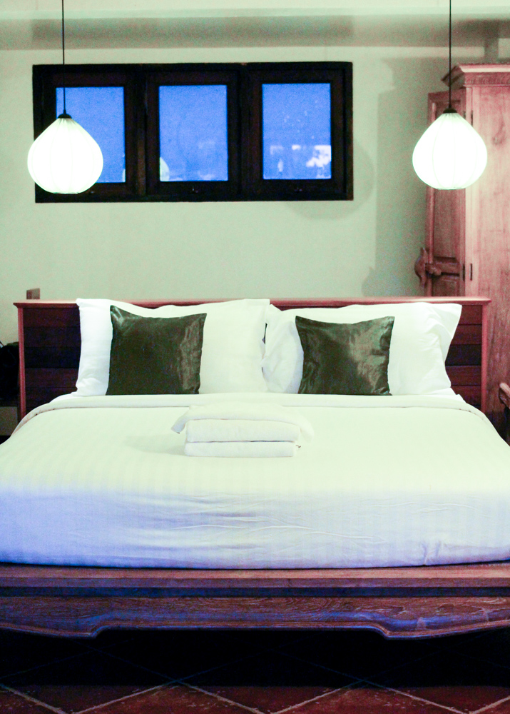 Chivapuri Beach Resort Hotel Koh Chang Thailand Deluxe Doppelzimmer Bett
