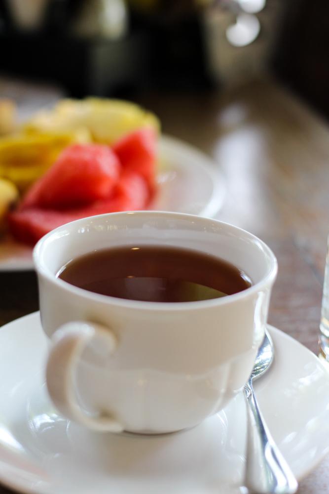 Chivapuri Beach Resort Hotel Koh Chang Thailand Frühstück Tee