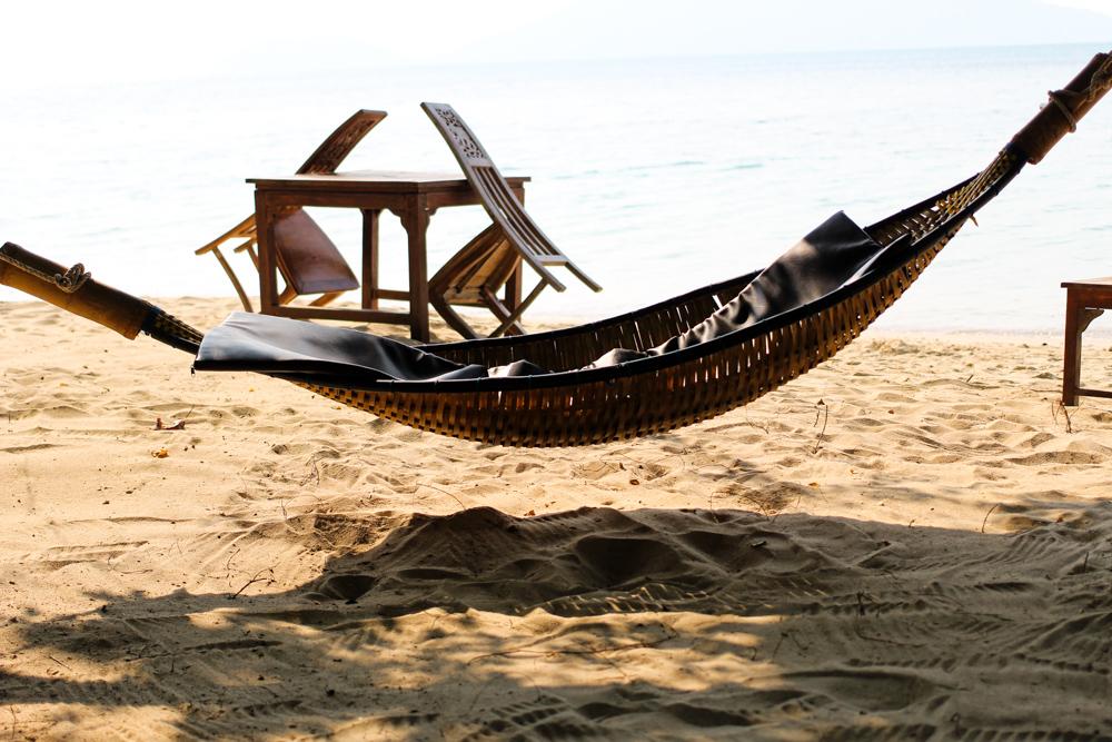 Chivapuri Beach Resort Hotel Koh Chang Thailand Hängematte Strand Beach