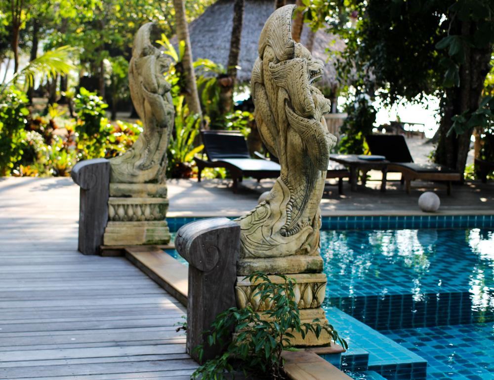 Chivapuri Beach Resort Hotel Koh Chang Thailand Pool Poolside