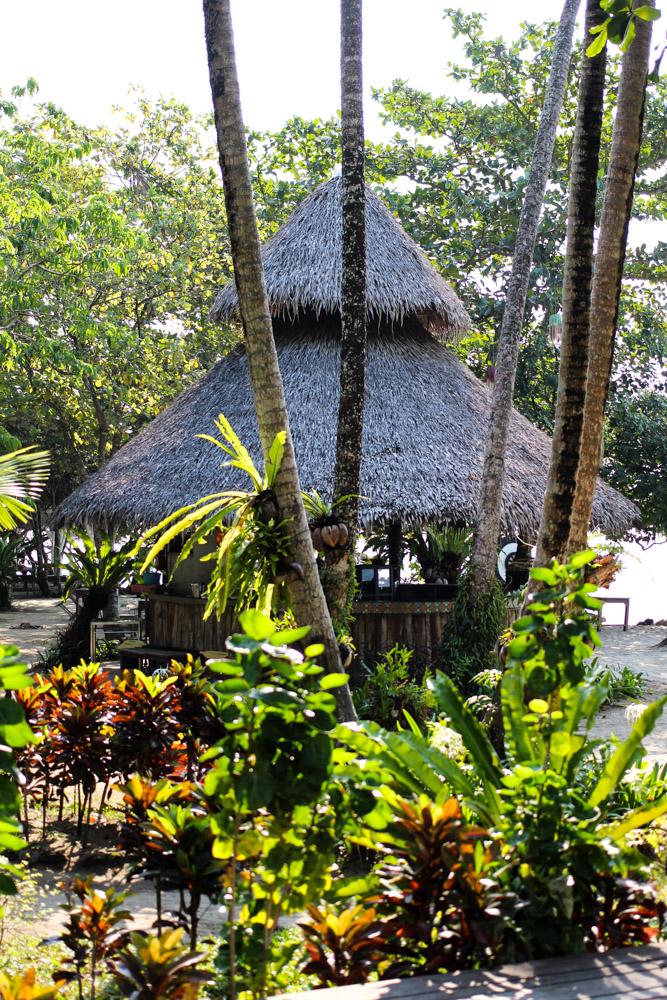 Chivapuri Beach Resort Hotel Koh Chang Thailand Strandbar Strandrestaurant