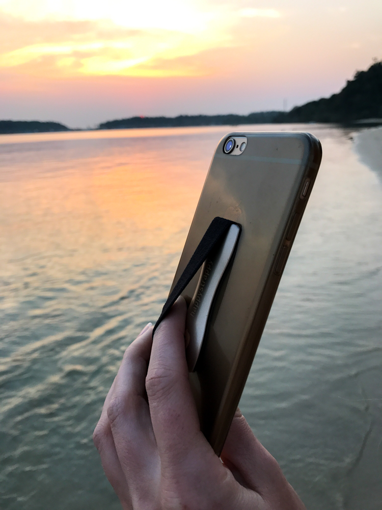 Happy Strappy Fingerhalter Smartphone iPhone Blogger Tipp Blogger Hilfe