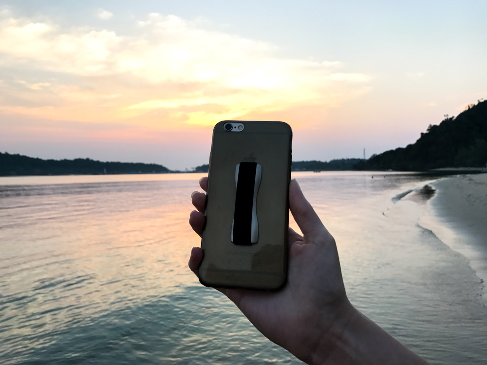 Happy Strappy Fingerhalter Smartphone iPhone Blogger Tipp Blogger Hilfe 4