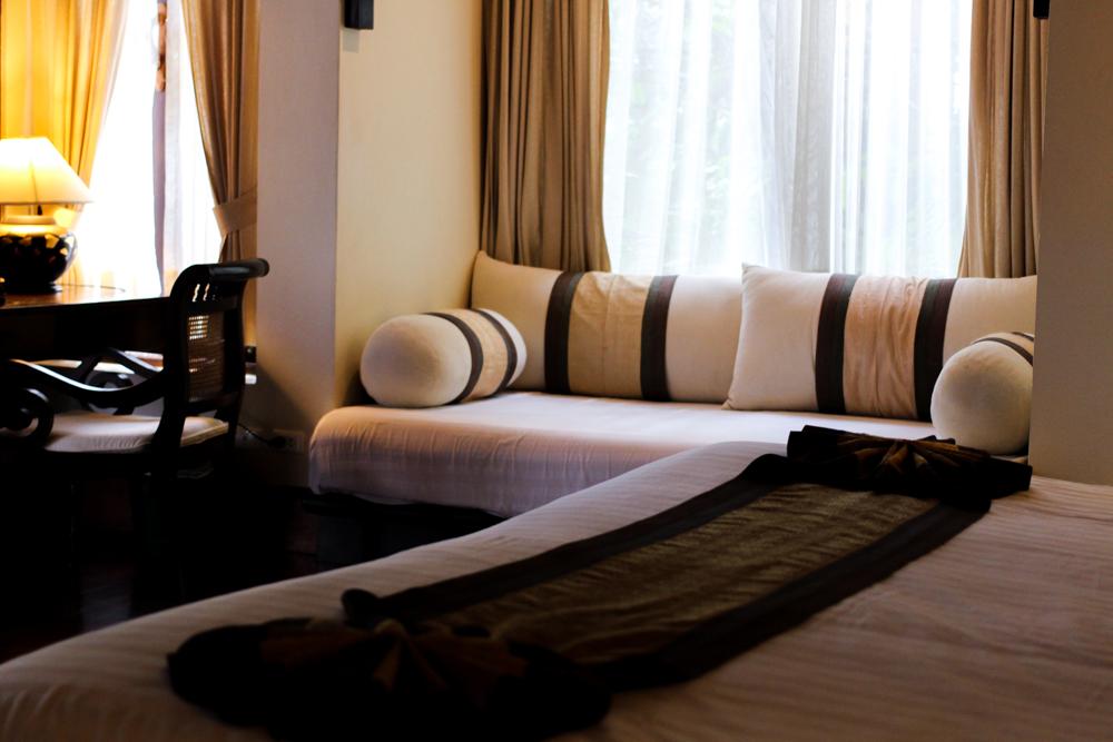 Panviman Spa Resort Hotel Chiang Mai Jacuzzi Villa Zimmer Thailand Reiseblog Schlafzimmer 2