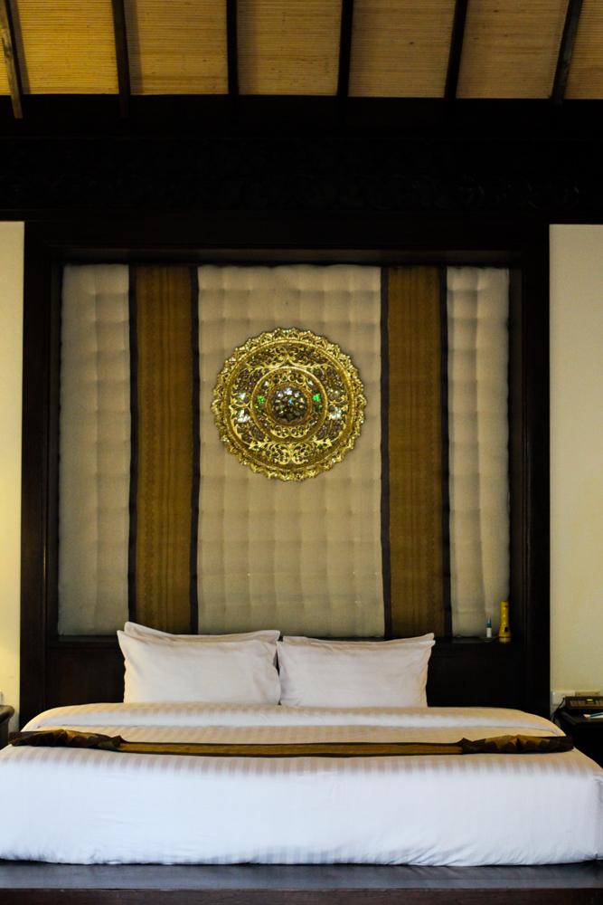 Panviman Spa Resort Hotel Chiang Mai Jacuzzi Villa Zimmer Thailand Reiseblog Schlafzimmer