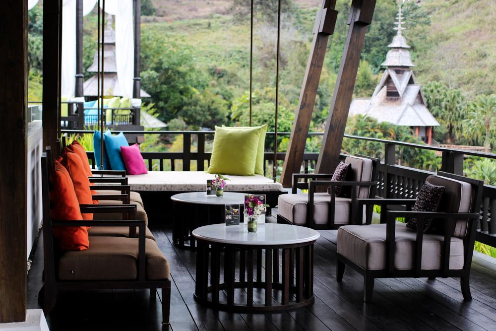 Panviman Spa Resort Luxus Hotel Chiang Mai Thailand Reiseblog Hotelempfehlung Lobby