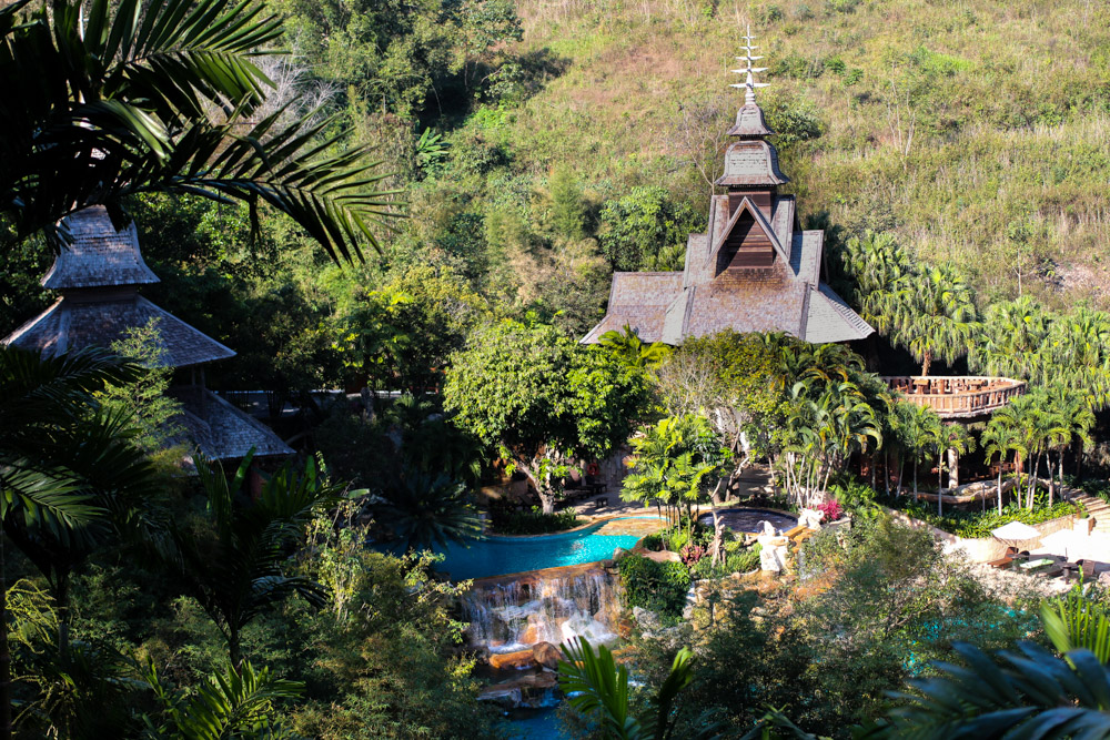 Panviman Spa Resort Luxus Hotel Chiang Mai Thailand Reiseblog Hotelempfehlung Pool