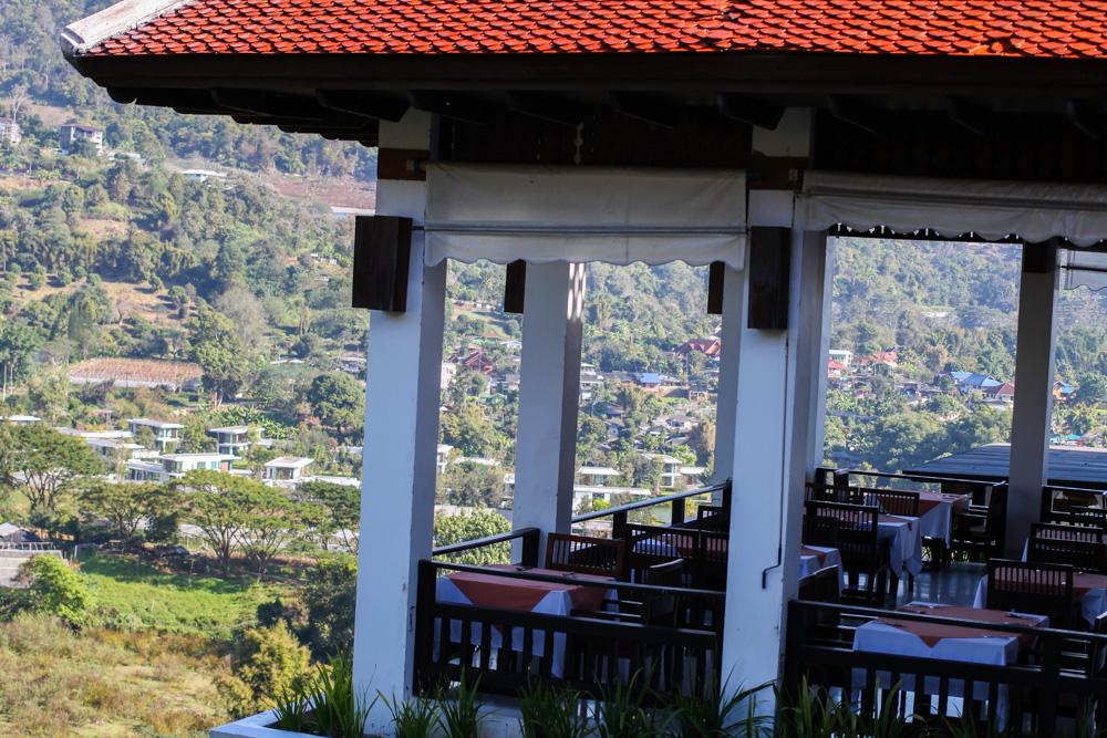 Panviman Spa Resort Luxus Hotel Chiang Mai Thailand Reiseblog Hotelempfehlung Restaurant