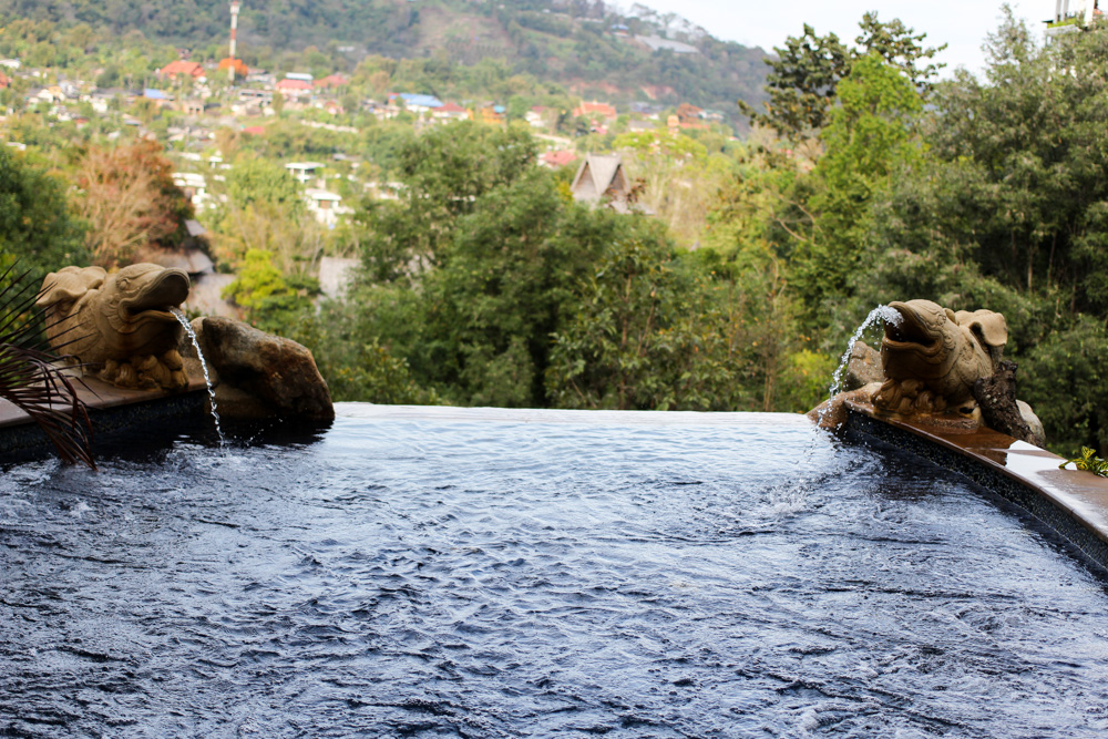 Panviman Spa Resort Luxus Hotel Chiang Mai Thailand Reiseblog Infinity Pool 3