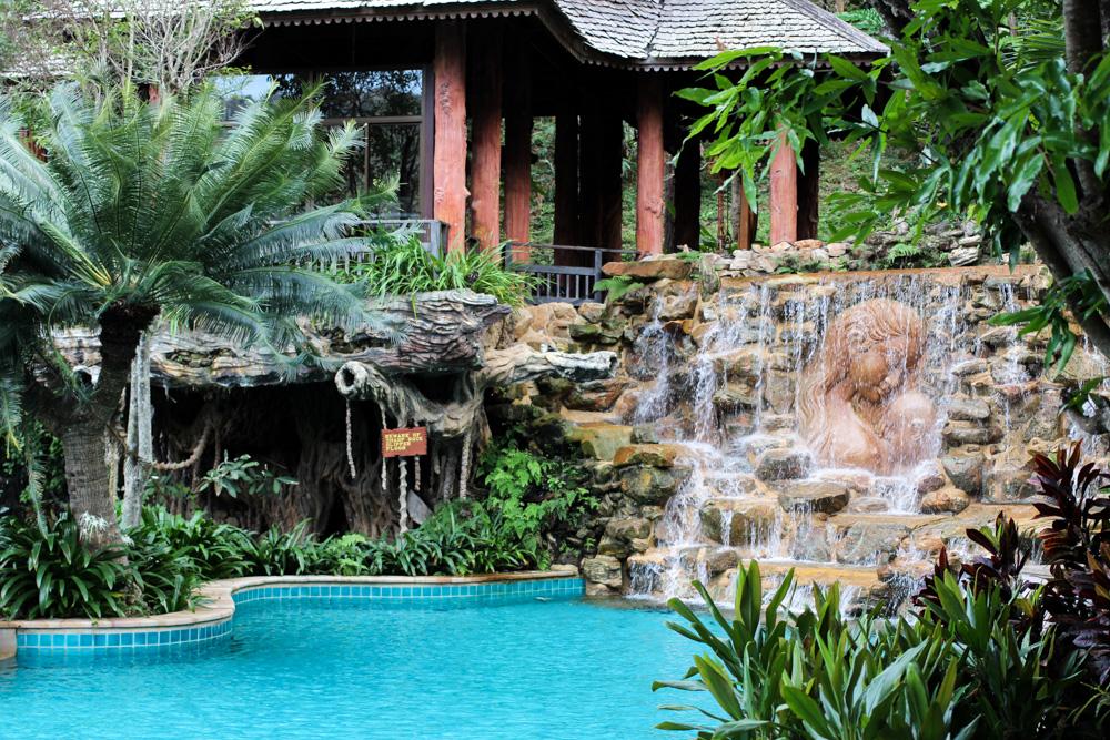 Panviman Spa Resort Luxus Hotel Chiang Mai Thailand Reiseblog Pool