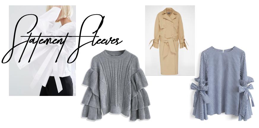Shopping Inspiration Statement Ärmel Statement Sleeves Modeblog