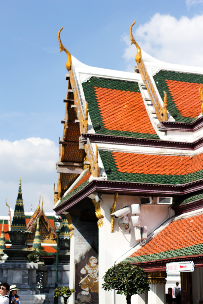 Thailand Reiseroute Rundreise Bangkok Grand Palace Königspalast Reiseblog