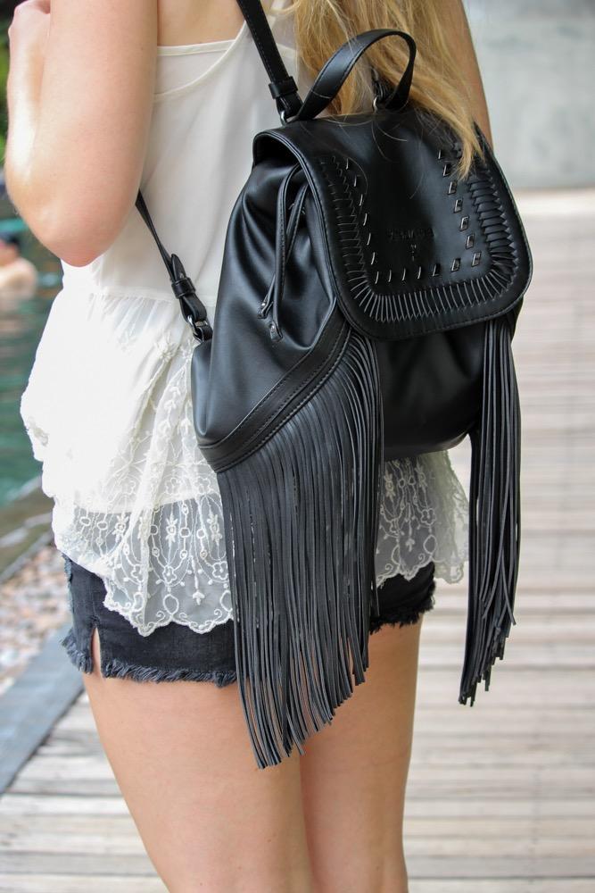Thailand Sightseeing Lederrucksack Zalando Fransenrucksack Patrizia Pepe Modeblog
