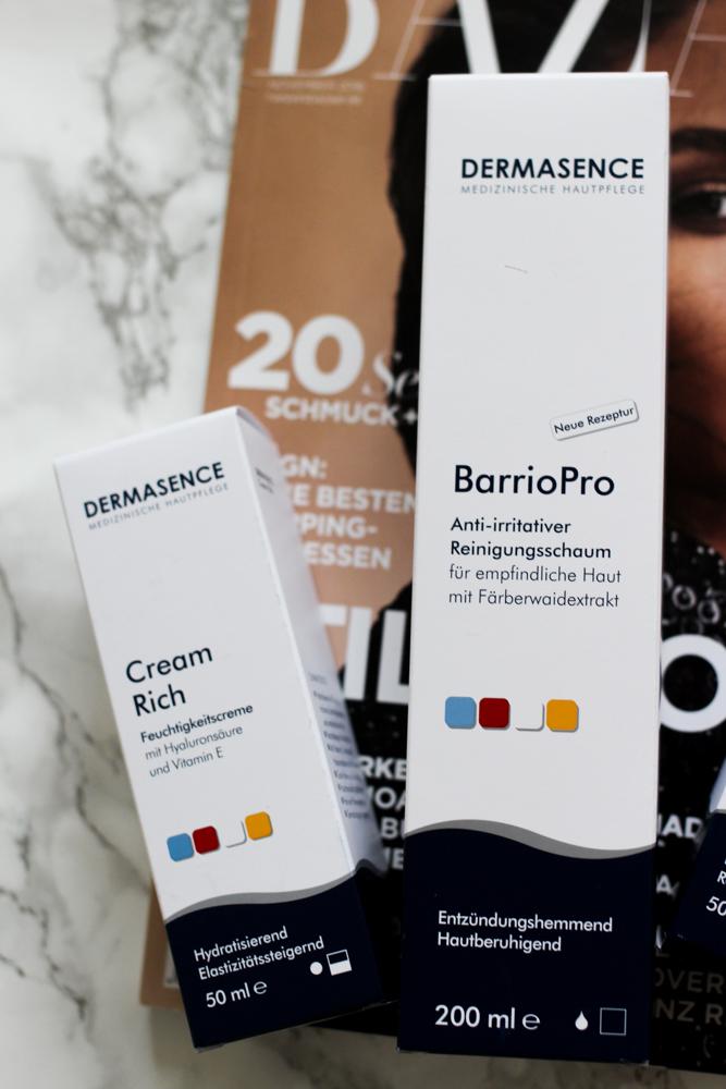 Winter Hautpflege Dermasence Feuchtigkeitscreme Cream Rich Beautyblog Erfahrungsbericht