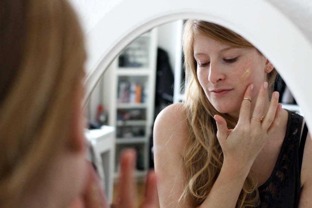 Winter Hautpflege Dermasence besonders trockene Haut Beautyblog Erfahrungsbericht Anwendung