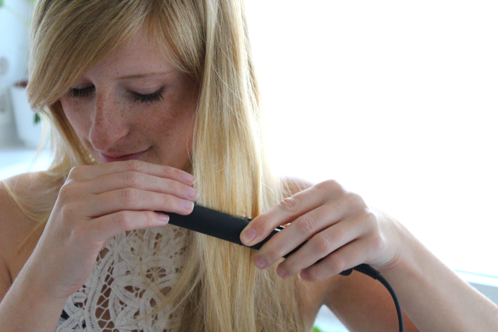 Braun Satin Hair 1 Style&Go Mini-Haarglätter Reisegröße Reisegepäck Styling Urlaub 1