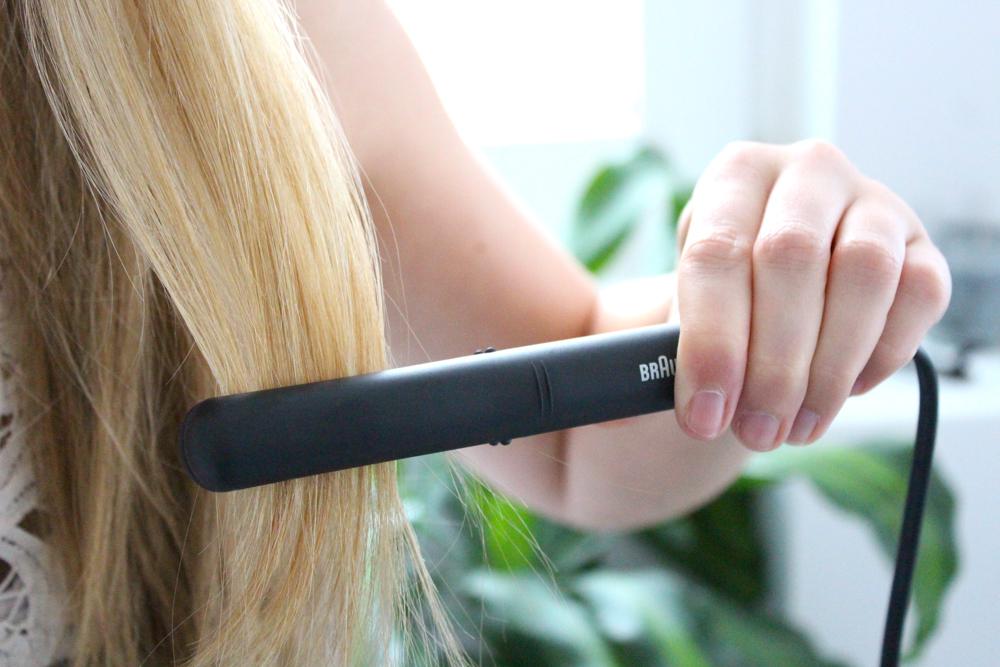 Braun Satin Hair 1 Style&Go Mini-Haarglätter Reisegröße Reisegepäck Styling Urlaub 2