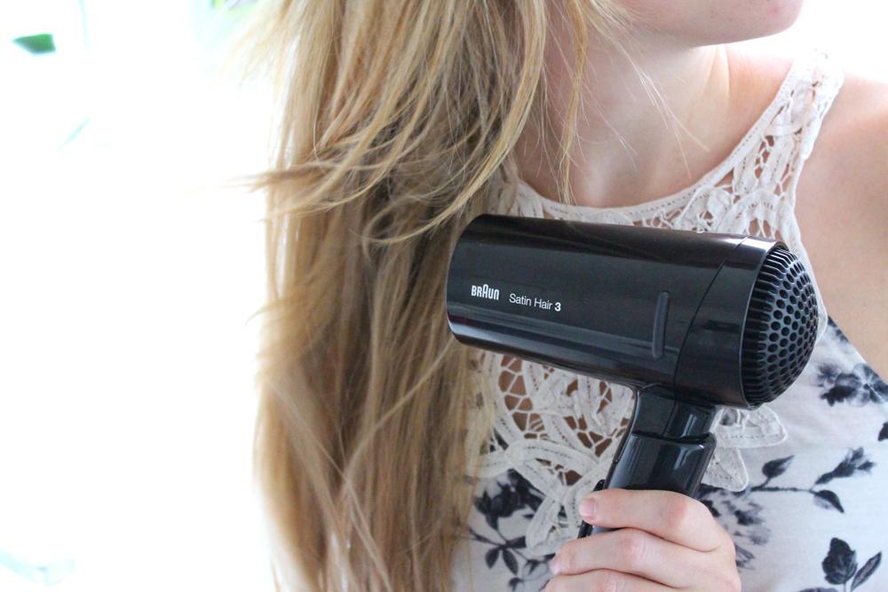 Braun Satin Hair 3 Style&Go Haartrockner Reisegröße Reisegepäck Styling Urlaub Beauty Blog Deutsch