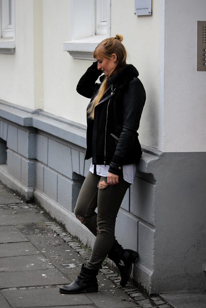 Casual Streetstyle Crop Top Layering F R Den Fr Hling Brinisfashionbook