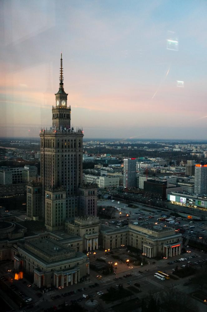 Kulturpalast Palast of Culture kybar Marriott Hotel Skyview Aussicht Top 10 Tipps für Warschau Insider Tips Warschau Polen Sehenswürdigkeiten