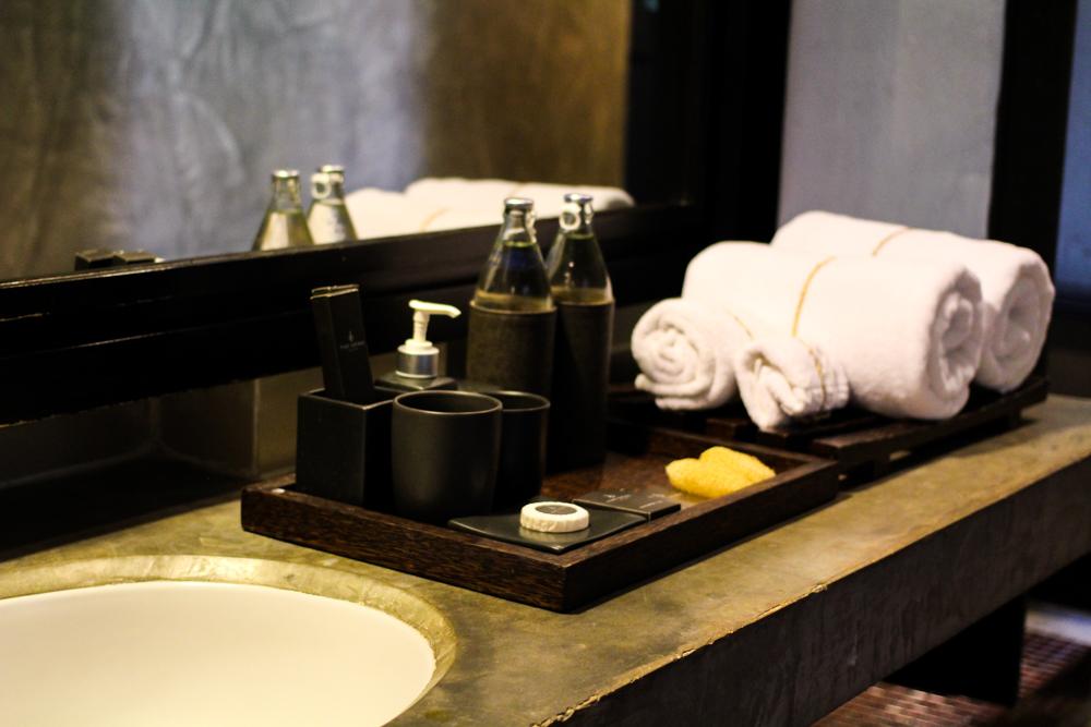Luxushotel THE DEWA Hotel Koh Chang Villa Thailand Badezimmer Reiseblogger