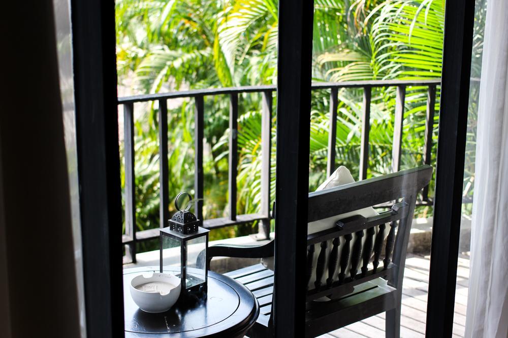 Luxushotel THE DEWA Hotel Koh Chang Villa Thailand Balkon Reiseblogger