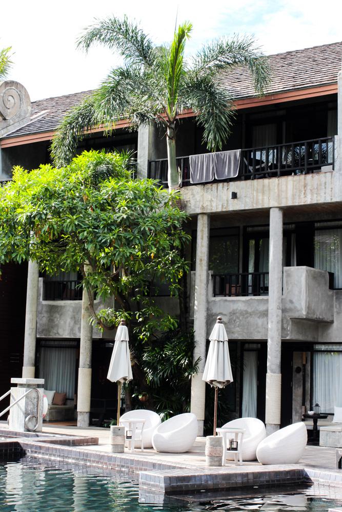 Pool Liegen Luxushotel THE DEWA Hotel Koh Chang Villa Thailand Reiseblogger