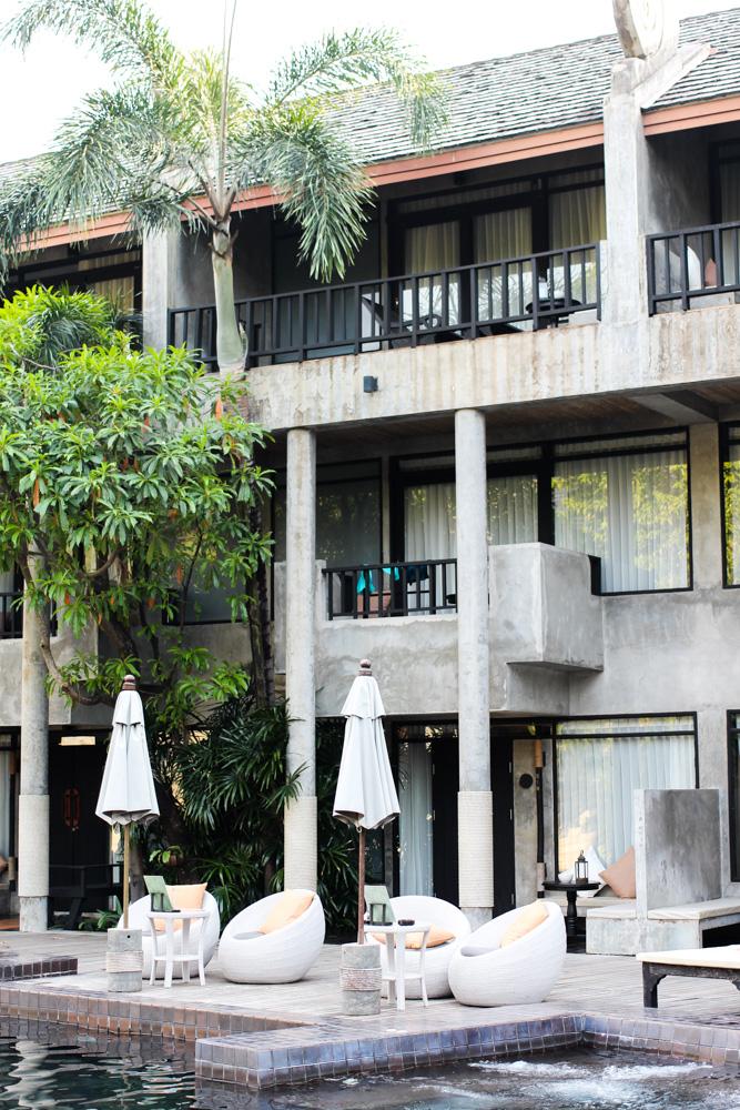 Pool Luxushotel THE DEWA Hotel Koh Chang Villa Thailand Reiseblogger
