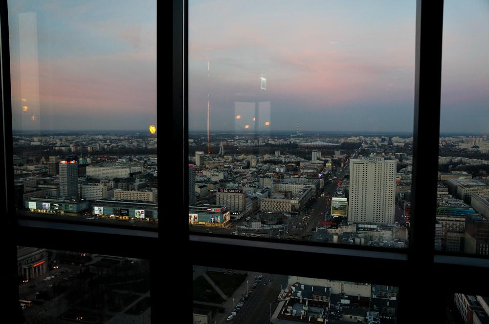 Skybar Marriott Hotel Skyview Aussicht Top 10 Tipps für Warschau Insider Tips Warschau Polen Sehenswürdigkeiten