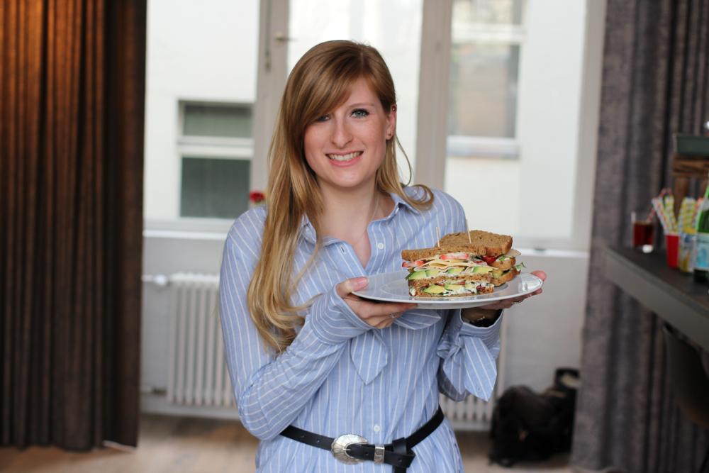 Food Event Herta Finesse Blogger Workshop Signature Sandwich Rezept Avocado Erdbeere Gouda Hähnchenbrust
