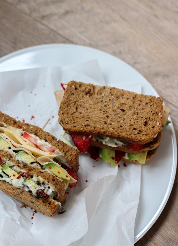 Herta Finesse Blogger Workshop Signature Sandwich Rezept Avocado Erdbeere Gouda Hähnchenbrust 2