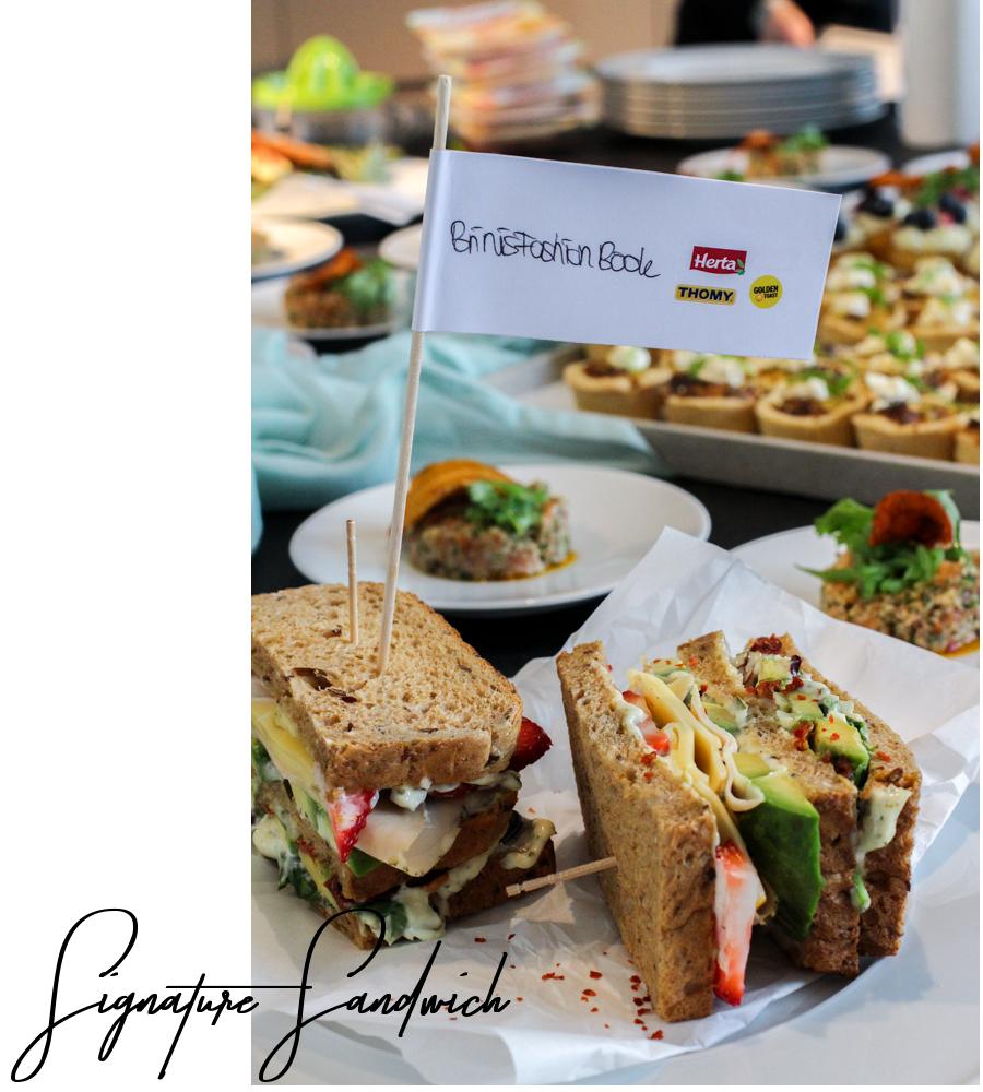 Herta Finesse Blogger Workshop Signature Sandwich Rezept Avocado Erdbeere Gouda Hähnchenbrust 4