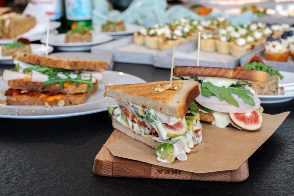 Herta Finesse Blogger Workshop Signature Sandwich Rezept Feige Avocado Hähnchenbrust Food