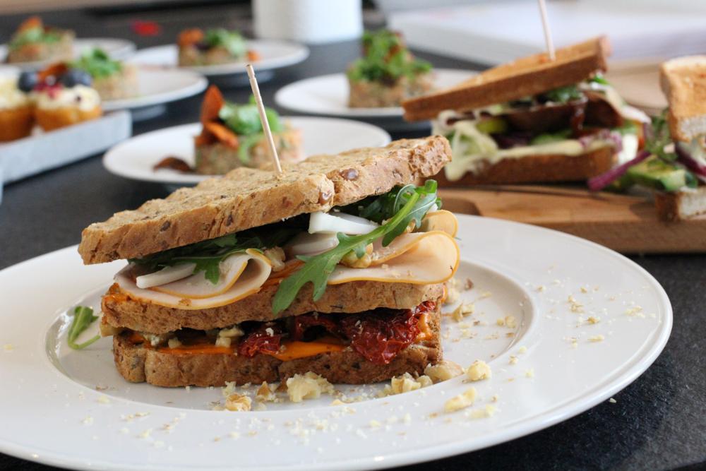 Herta Finesse Blogger Workshop Signature Sandwich Rezept getroknete Tomaten mediterranean Hähnchenbrust Food