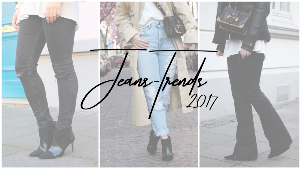 Jeans Trends 2017 Jeans kombinieren Jeanstrend Outfit Jeanshose Modeblog