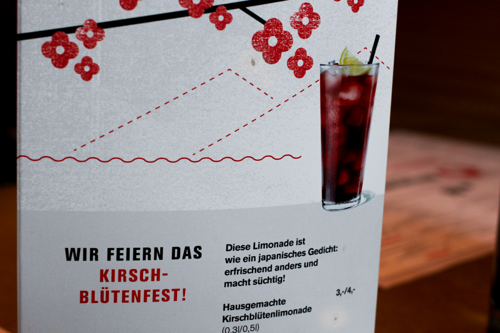 Kirschblütenfest MoschMosch bonn Kirschblütenlimonade japanisches Restaurant Bonn Restaurant tipp essen gehen Blog 2