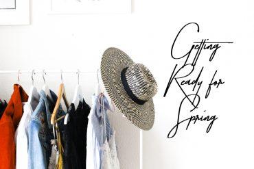 Tipps Frühlingsstimmung Ankleidezimmer Kleiderstange Modeblog Lifestyleblog
