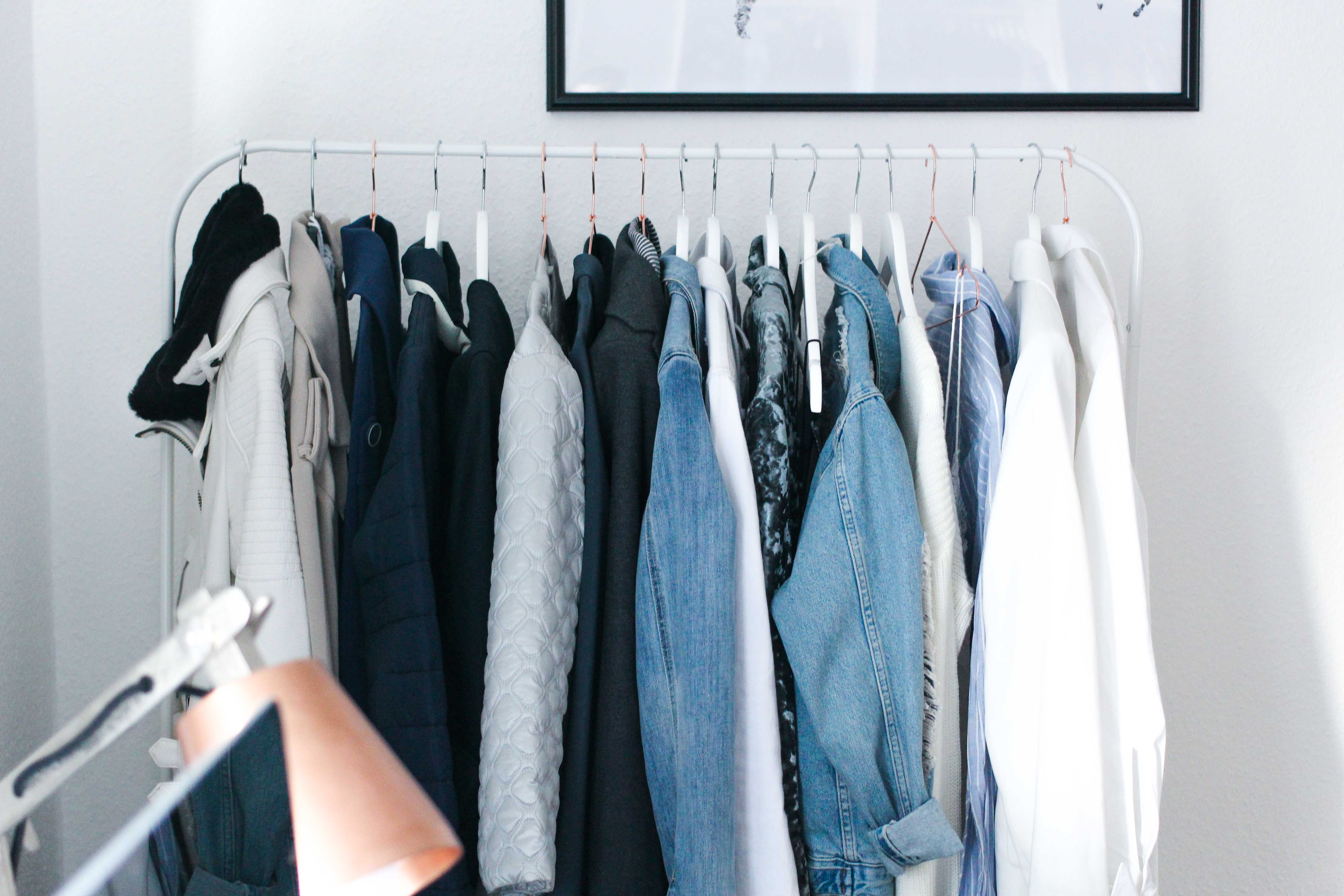 Interior Tipp Wohnung Kleiderstange Ankleidezimmer Blogger Posterlounge