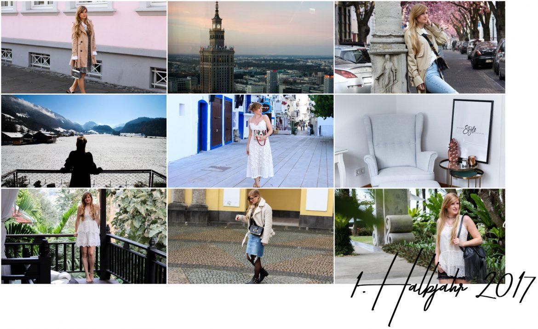 1 Halbjahr Modeblog Reiseblog Rückblick 2017 Blogger Outfits Reisetipps BrinisFashionbook