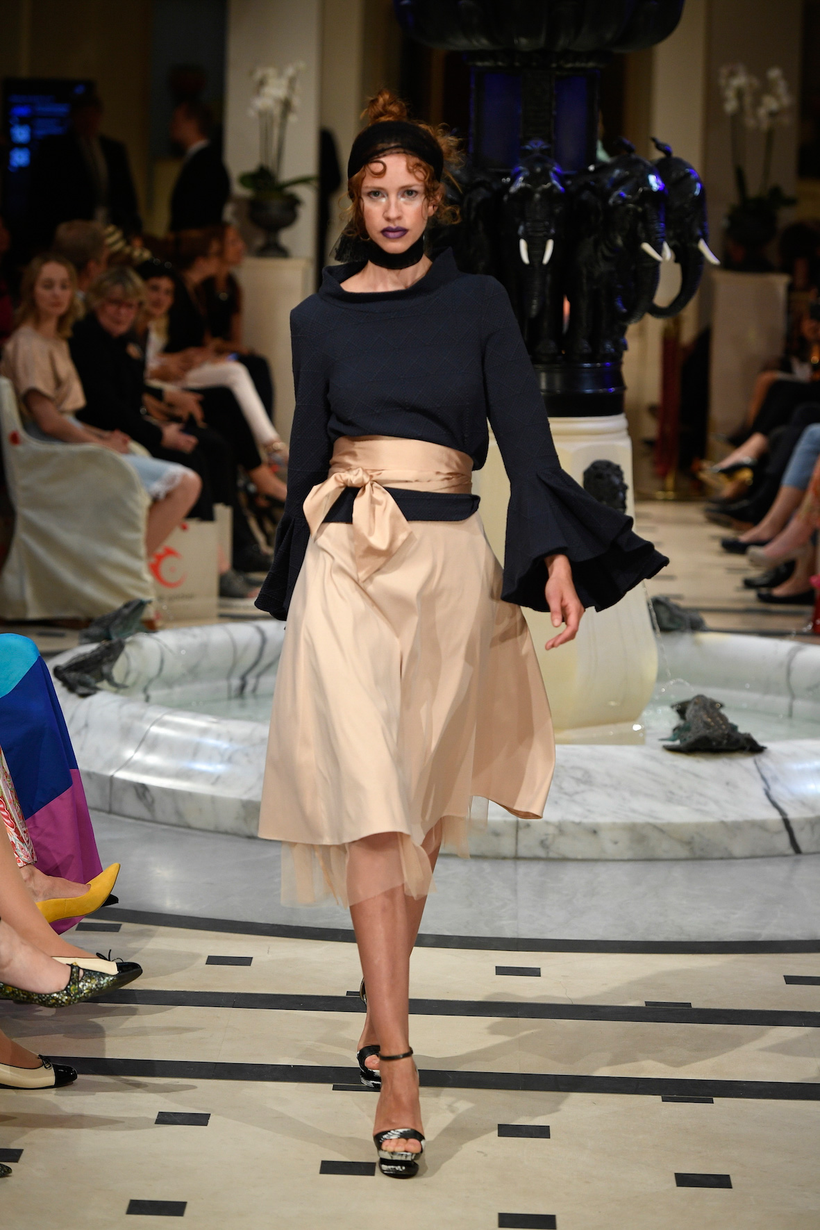 Anja Gockel S18 Outfit Fashion Week Berlin 2018 Frühling Sommer Modeblog