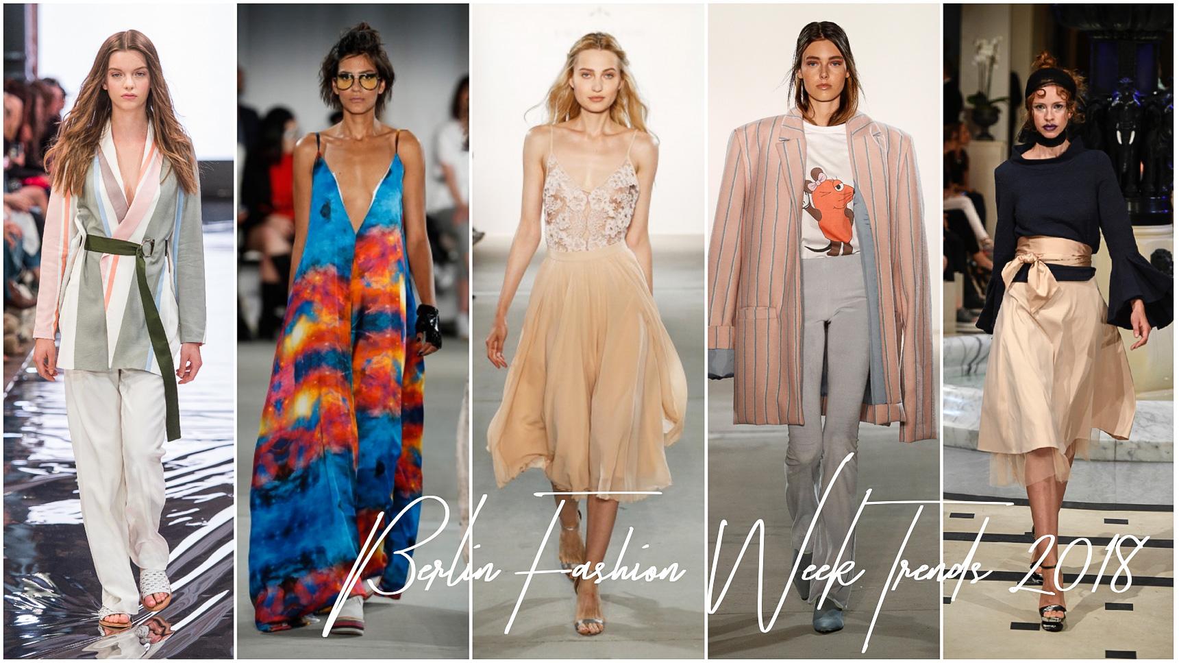 Berlin Fashion Week Trends S 2018 Die Trends für den Frühling Sommer 2018 Modeblog