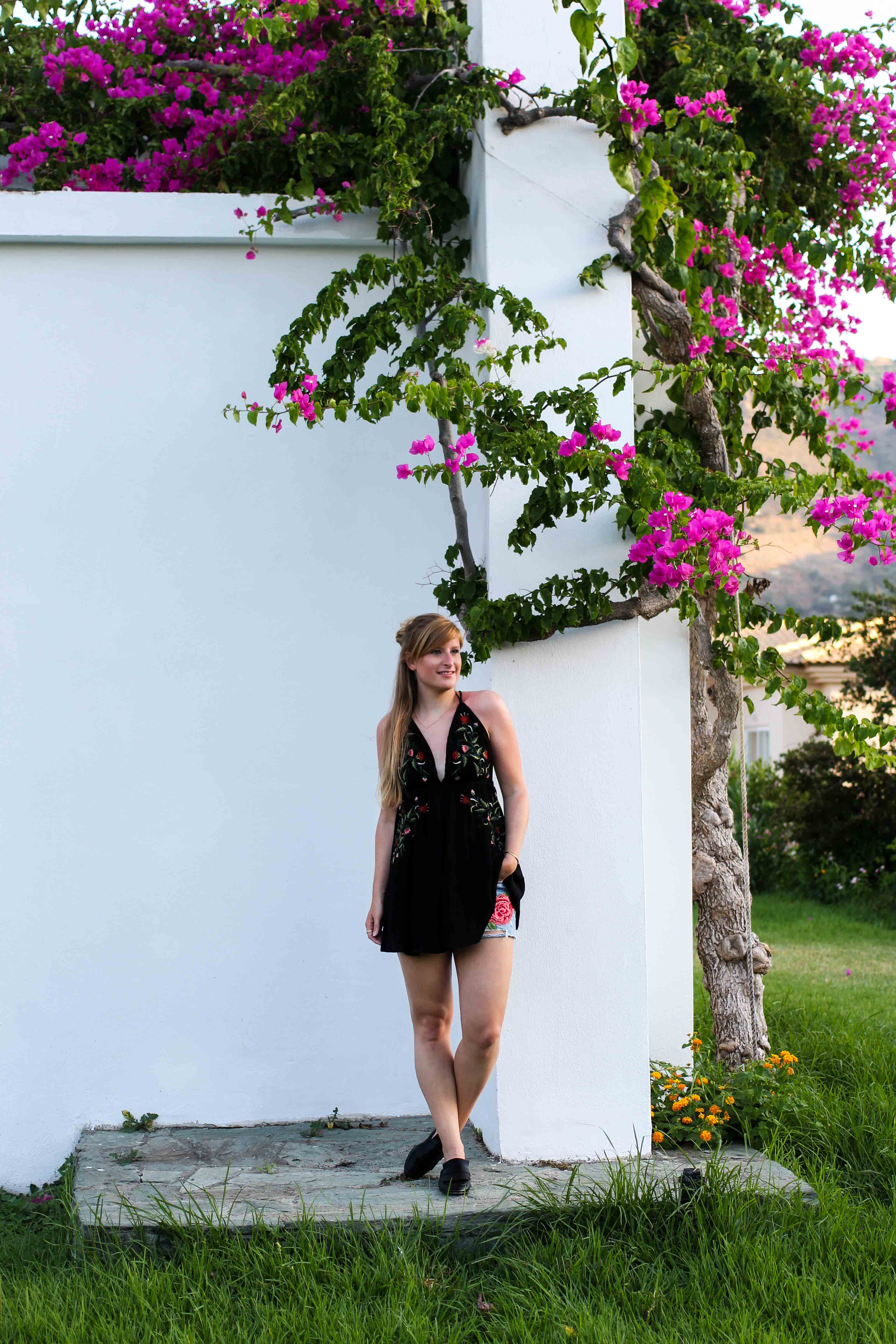 Fashion Blog Travel Blogger BrinisFashionBook Summer Oufit Klippe Out of the Blue Capsis Elite Resort Luxushotel Kreta Griechenland